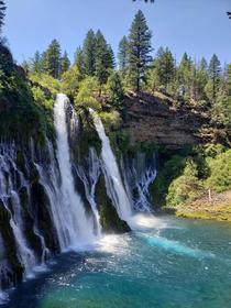 Burney Falls Shasta County California  x