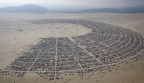 Burning Man  temporarily Nevadas third largest city