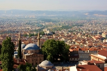 Bursa Turkey - the first major capital of the Ottoman Empire  x