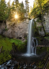 Bursting Who else loves themselves a nice warm summers morning in the forest Heres a photo at a waterfall in Washington state this past summer on such a morning OC  Instagram  john_perhach_photo
