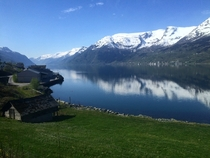 Bus rides through Norway arent so bad
