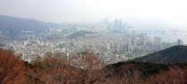 Busan Zombie Apocalypse Haven viewed from Hwangnyeongsan Mountain