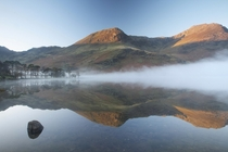 Buttermere in the Lake District England
