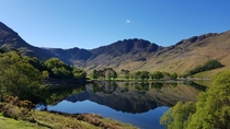Buttermere Lake Lake District UK