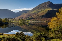 Buttermere reflections England By Adelheid Smitt