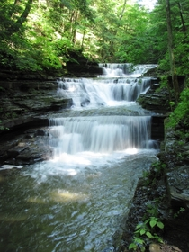 Buttermilk Falls State Park Ithaca NY