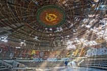 Buzludzha an Abandoned Communist Monument near Kazanlak in Bulgaria  by Stefex