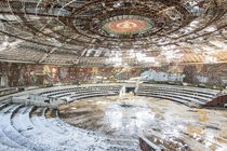 Buzludzha Bulgarias abandoned Soviet spaceship  album by Romain Veillon inside