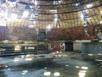 Buzludzha Monument Bulgaria Internal shot