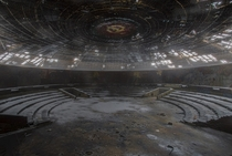 Buzludzha Monument in Bulgaria  by James Kerwin