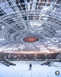 Buzludzha winter is coming