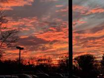 By far the best sunset I have ever seen from a Home Depot parking lot