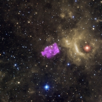 C  An Unusual Galactic Supernova Remnant