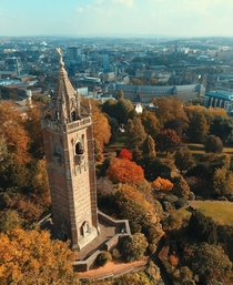 Cabot Tower Bristol UK