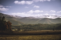 Cades Cove Great Smoky Mtns National Park  OC