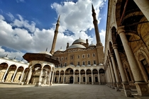 Cairo Citadel in Egypt  built by Salah ad-din in
