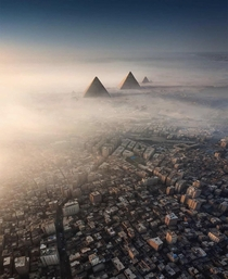 Cairo Egypt from above