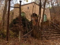 Calderwood was a company town along the Little Tennessee River that housed TVA and ALCOA workers during the construction of Calderwood Dam Now a ghost town very little remains today including Calderwood Baptist Churchshown here