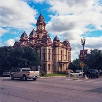 Caldwell County Courthouse in Lockhart TX - Alfred Giles amp Henry EM Guidon