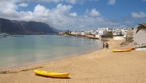 Caleta de Sebo Canary Islands Spain