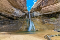Calf Creek Falls in Grand Staircase Escalante Utah