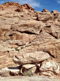Calico Tanks trail at Red Rock Canyon Las Vegas NV