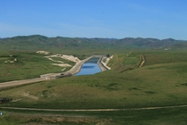 California Aqueduct somewhere off I-