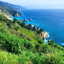 California Coastline in Big Sur California