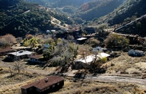 California Ghost Town Nestled in the Hills -