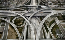 California State Route  highway interchange in Los Angeles
