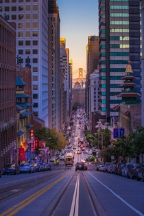 California Street San Francisco Photo credit to Rezaul Karim