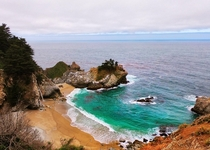 Californias beautiful coast - McWay Falls Big Sur CA