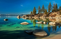 Calm Water at Lake Tahoe