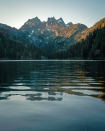 Calm Waters Alpine Lakes Wilderness WA