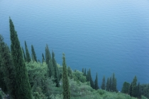 Calm waters of Lago di Como Italy