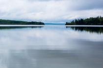 Calm waters on Cold Lake Alberta