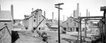 Calumet and Hecla Copper Smelters Lake Linden Mich circa -