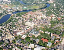 Cambridge Massachusetts from above