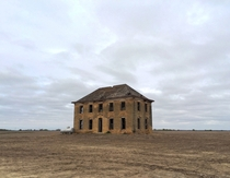 Came across an old house in the middle of a field in Kansas Album in comments