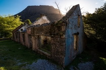Came across this abandoned stone home in the shadow of the Gap of Dunloe Ireland  OC