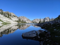 Camped up near Sawtooth Lake this summer Idaho USA  x