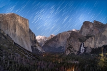 Can we have too many photos of Yosemite Valley How about at night