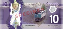 Canadas new  Note I Like Trains