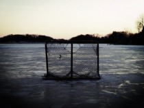 Canadian pond hockey