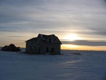 Canadian Prairie house