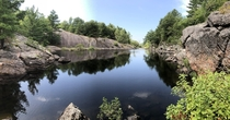 Canadian Shield Country Ontario Canada