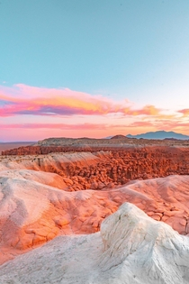Candy sky adventure in Goblin Valley Utah USA  by Hansi