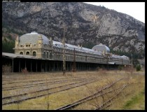 Canfranc International Train Station in Spain