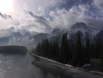 Canmore yesterday