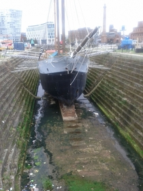 Canning Graving Dock Liverpool England built -